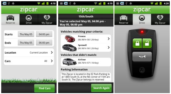 zipcar-android