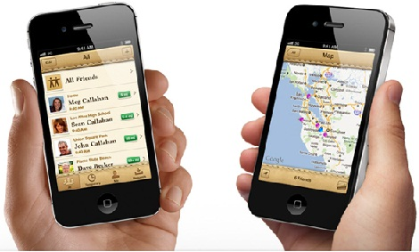 Find My Friends para iOS5 disponible para descargar 2