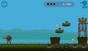 Juego gratis para BlackBerry  Battle Frogging II 2