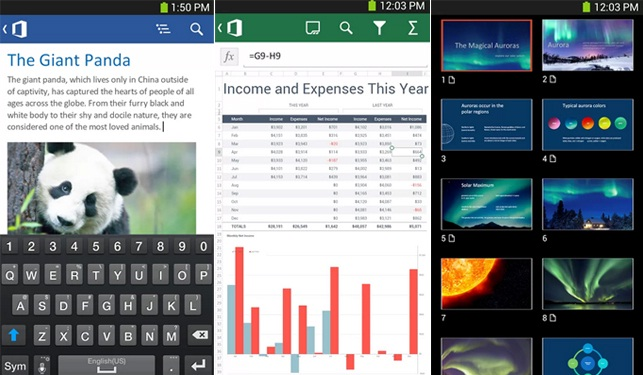 Office para iPhone y Android ya es gratis ANDROID