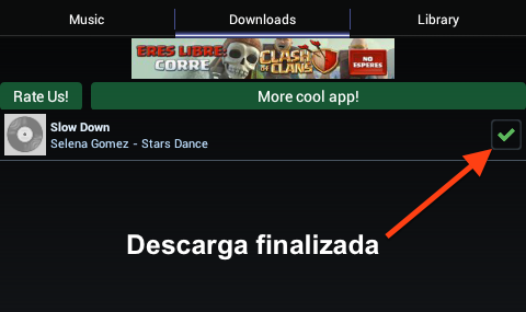 Descarga finalizada