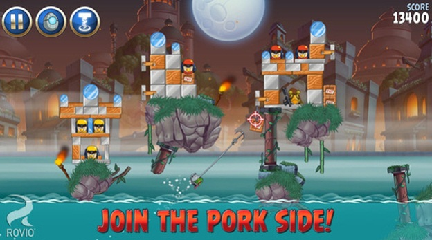 Angry Birds Star Wars para iPhone, iPod Touch, iPad gratis por tiempo limitado