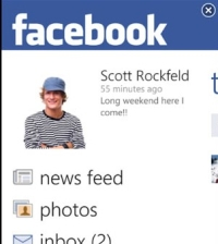 FacebookWP7_Profile