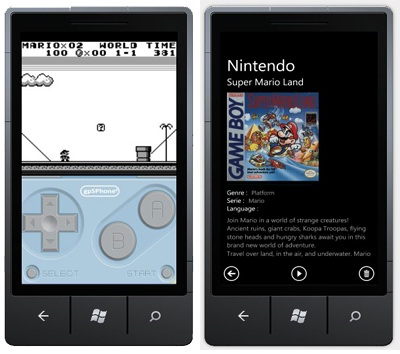 Emulador de Game Boy para Windows Phone 7