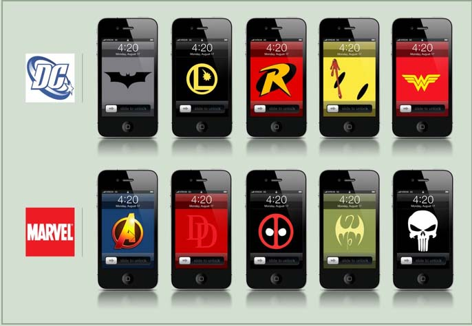 iPhone-Super-Hero-Wallpapares