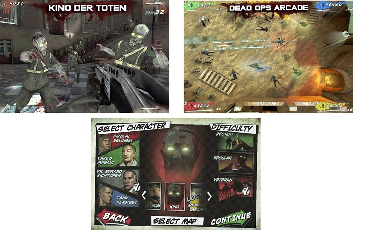 Call Of Duty Black Ops Zombies para iPhone iPad y iPod 2