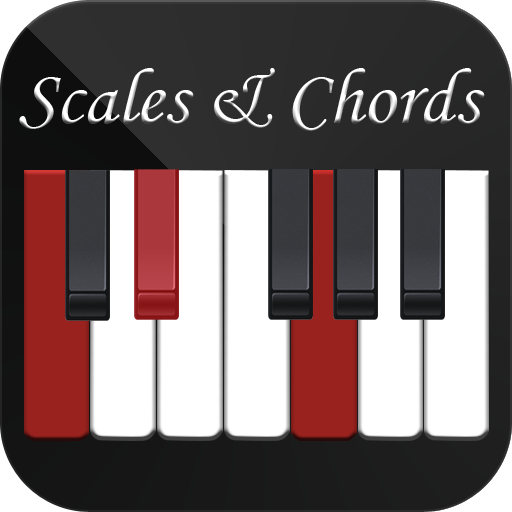 Piano Chords and Sacales logo