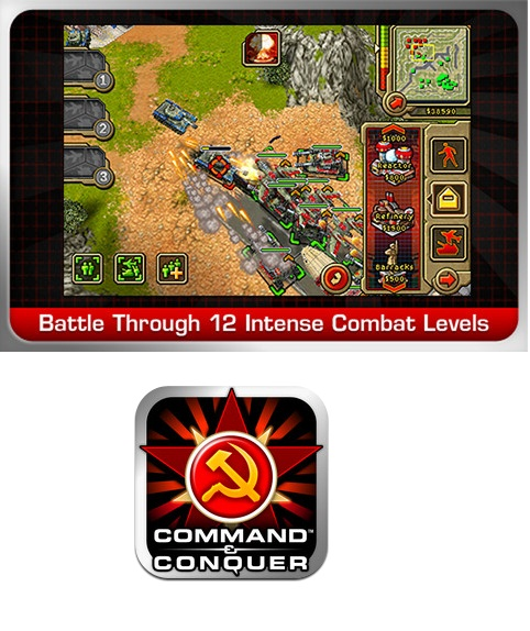Command Conquer Red Alert para iPhone