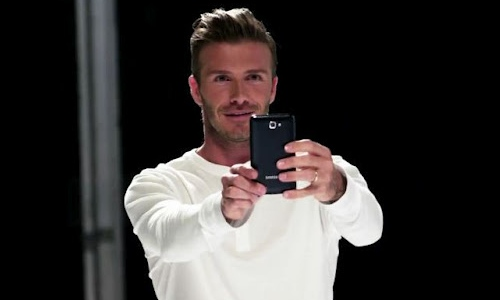 David Beckhman Samsung Galaxy