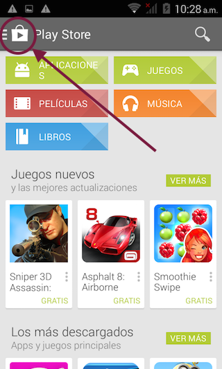 Actualizar WhatsApp Google Play